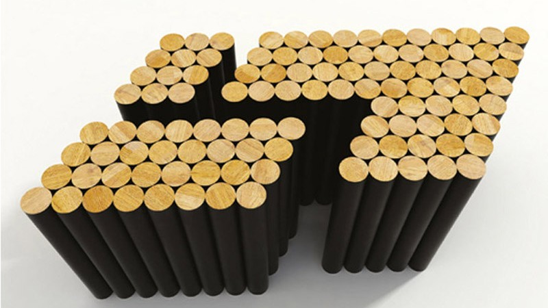 Multiple magnetic coffee table by Raphael Charles