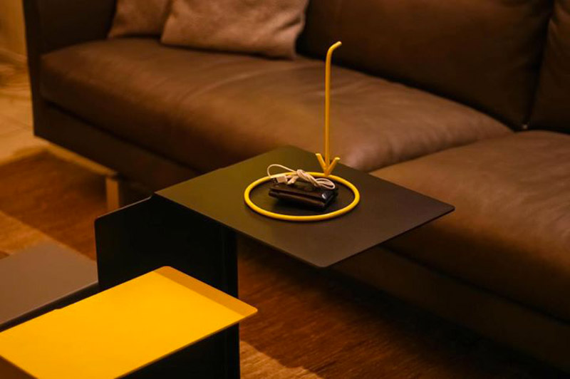 Yellow Pointer HERE by Maximovich Design