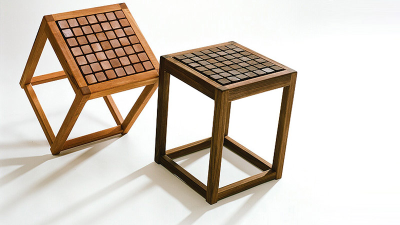 2 SQUAT Therapeutic Seating Wooden Chairs by Martin Rille