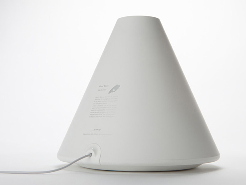 White Volcano Humidifier by Hun-jung Choi and Dae-hoo Kim from Coway