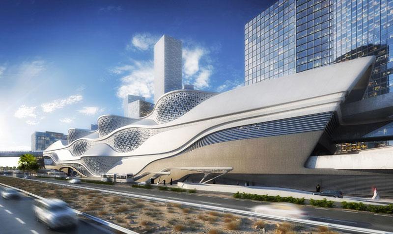 Bmw Mountain View >> KAFD Metro Station in Riyadh, Saudi Arabia by Zaha Hadid Architects