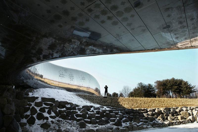 Jeongok Museum South Korea Prehistory Museum by X-TU Architects