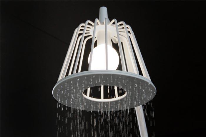 Axor Waterdream Shower Head by Nendo