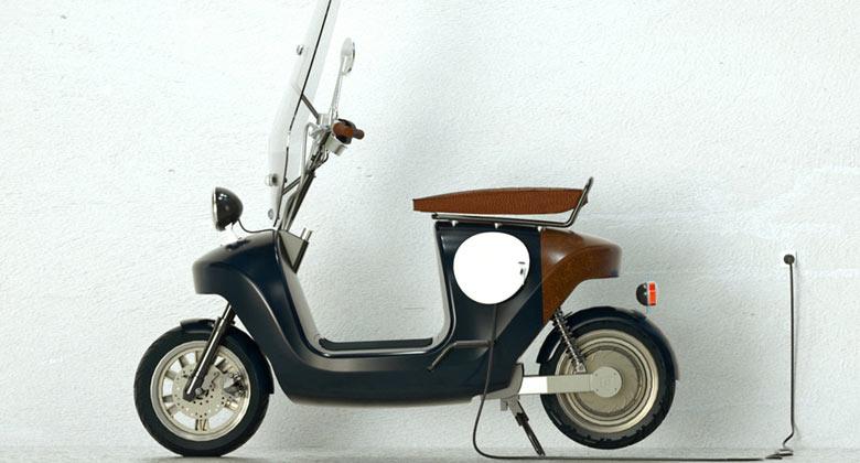 Be.e Hemp Electric Scooter by Vaneko on Jebiga