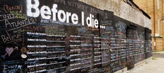 BEFORE I DIE | BY CANDY CHANG (VIDEO)