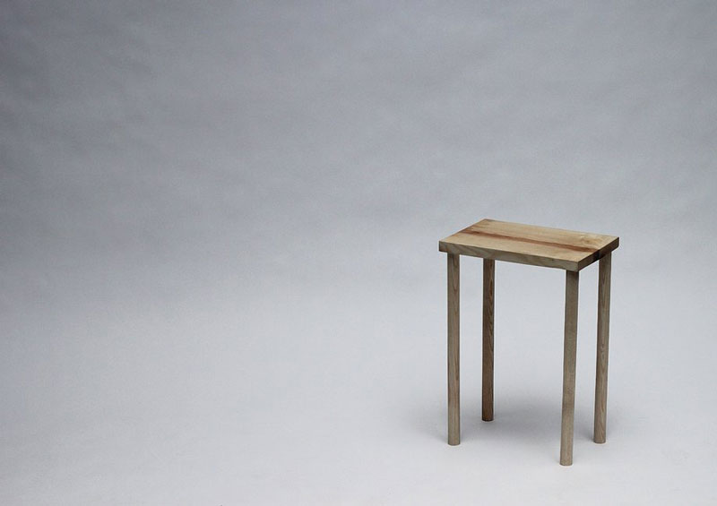 Chair built using the BOXED Multi Functional Furniture by Tyrone Stoddart