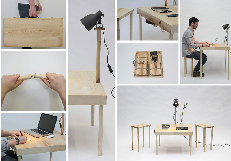 Multiple uses of the BOXED Multi Functional Furniture by Tyrone Stoddart