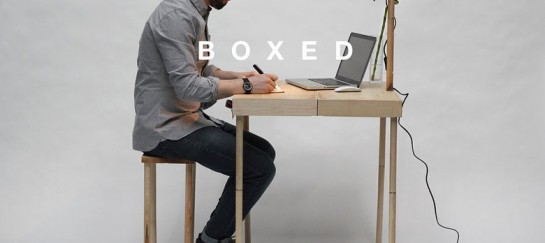 BOXED Multi-Functional Furniture in a Suitcase | Tyrone Stoddart