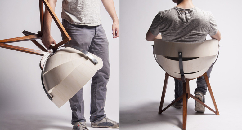 Globe Chair by Michiel van Gadeldonk on Jebiga