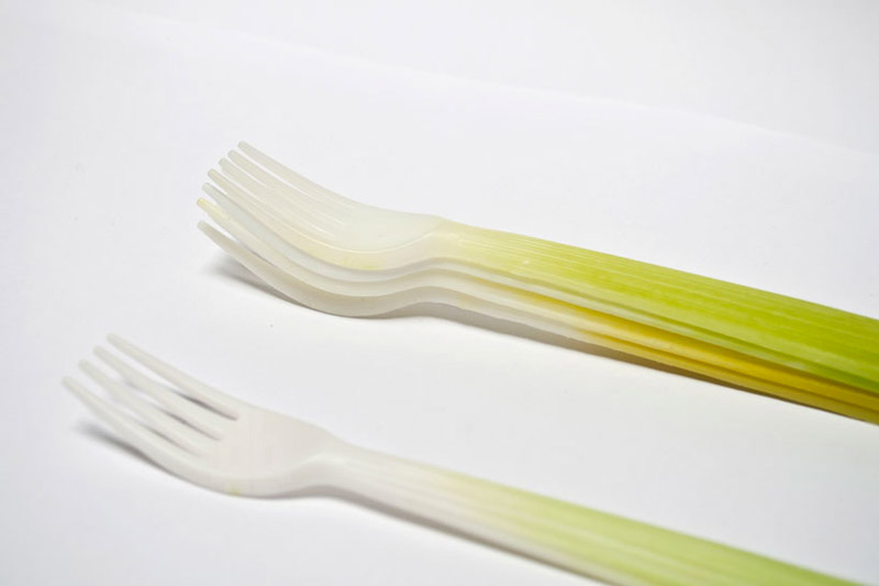 Forks of the Graft Utensils Biodegradable Tableware Collection
