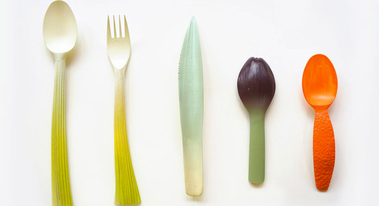 Graft Utensils Biodegradable Tableware on Jebiga