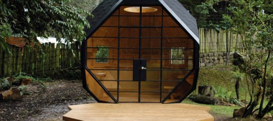 Habitable Polyhedron – A Family Retreat and Garden Office in One