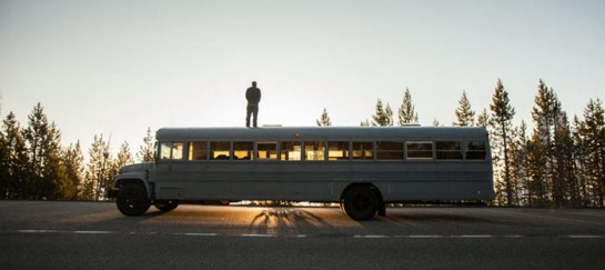 'Hank Bought a Bus' – $3000 School Bus Converted Mobile Home (VIDEO)