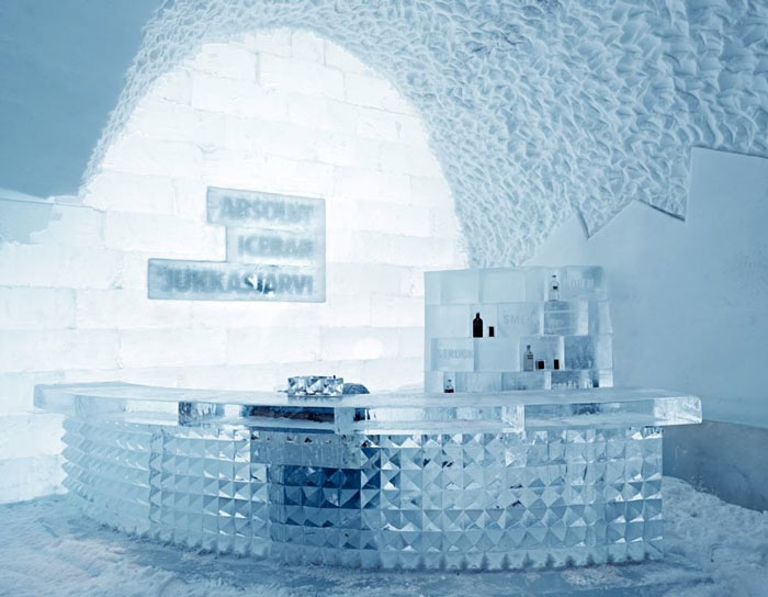 icehotel in sweden. Black Bedroom Furniture Sets. Home Design Ideas