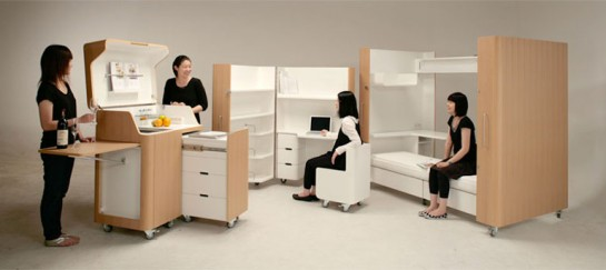 KENCHIKUKAGU FOLDABLE ROOMS | BY TOSHIHIKO SUZUKI