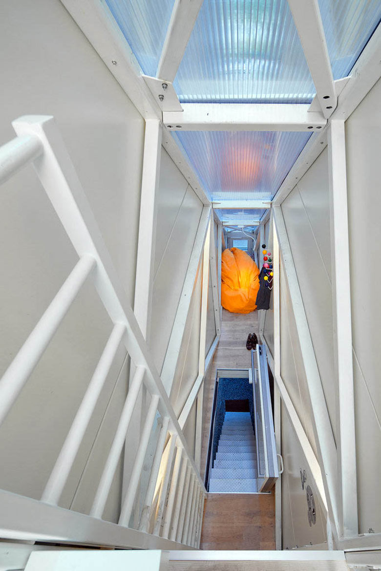 Keret House World S Narrowest Home Located In Warsaw