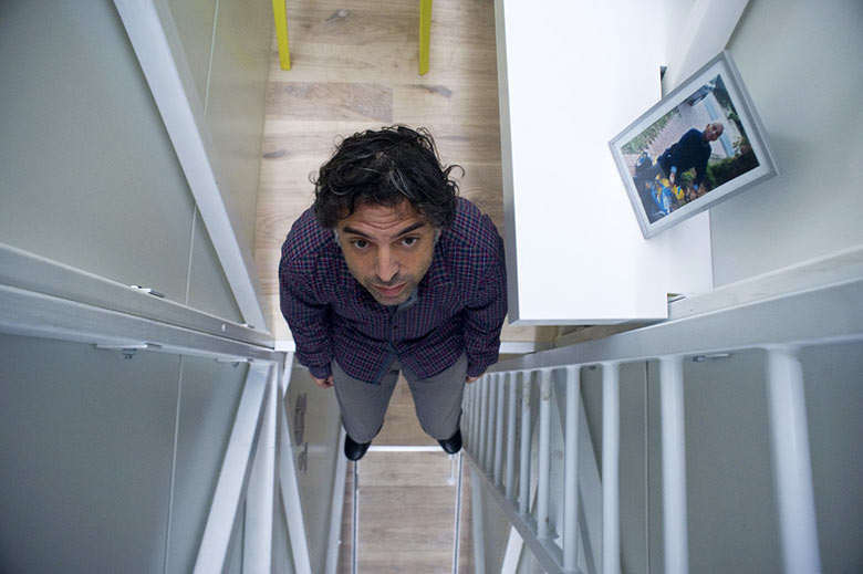 Inside the Keret House the World's Narrowest Home in Warsaw by Jakub Szczesny