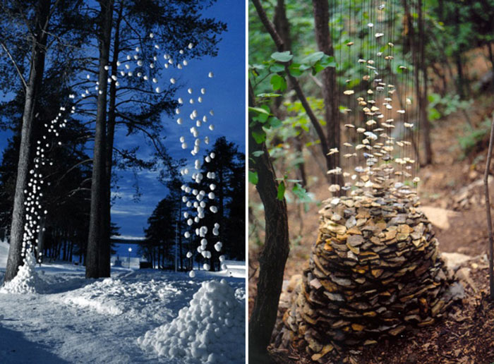 land art installations by cornelia konrads