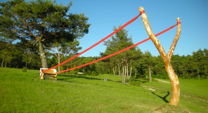 Land Art Installations by Cornelia Konrads on Jebiga