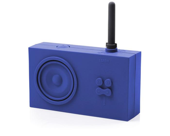 Blue Lexon Tykho Spash Shock Proof Radio