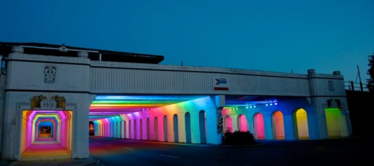 LightRails – New Look of a Demised Underpass by Bill FitzGibbons
