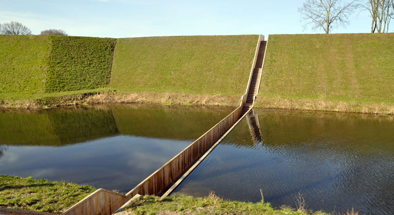 Moses Bridge, Sunken Bridge in The Netherlands Jebiga Cover