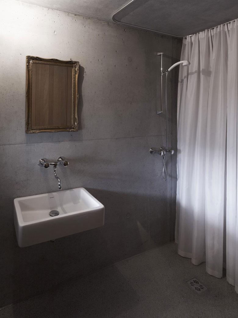 Bathroom at the Mountain Cabin by Marte.Marte in Voralberg Austria