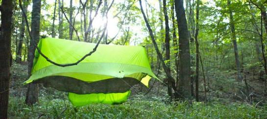 Nubé – Hammock Shelter and Storage by Sierra Madre