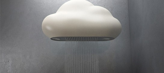 Nube Shower Head – Cloud Shaped – LED Equipped Shower Head