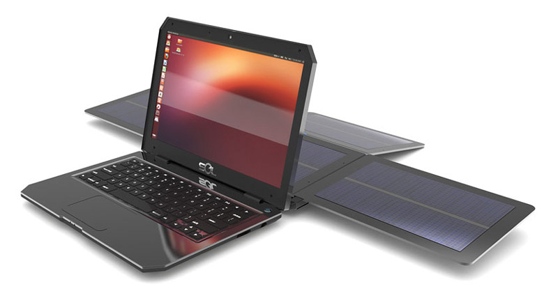 SOL Solar Powered Laptop using Ubuntu Linux by WeWi Jebiga