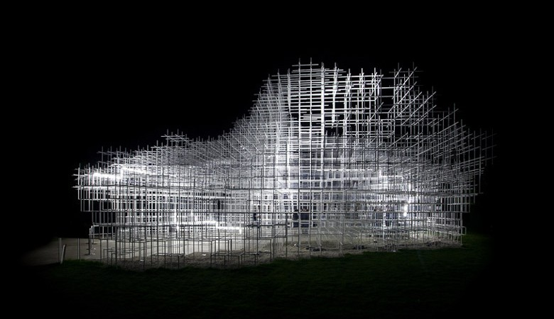 Serpentine Pavilion Gallery by Sou Fujimoto and UVA on Jebiga