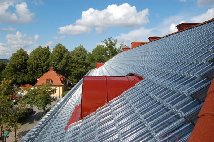 Soltech System transparent Solar Roof Panels by Soltech Energy