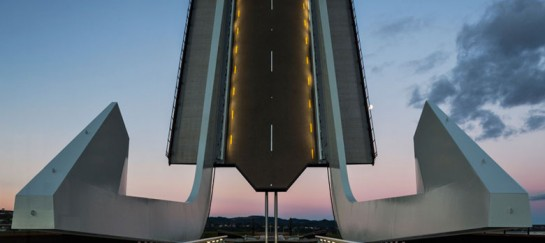 Te Matau a Pohe 'Fish hook of Pohe' Bridge by Knight Architects