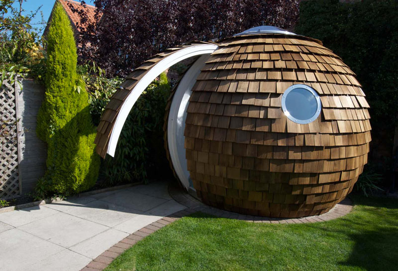 The pod garden office by archipod for The garden office