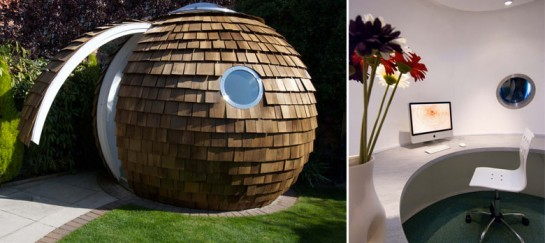 THE POD | GARDEN OFFICE BY ARCHIPOD