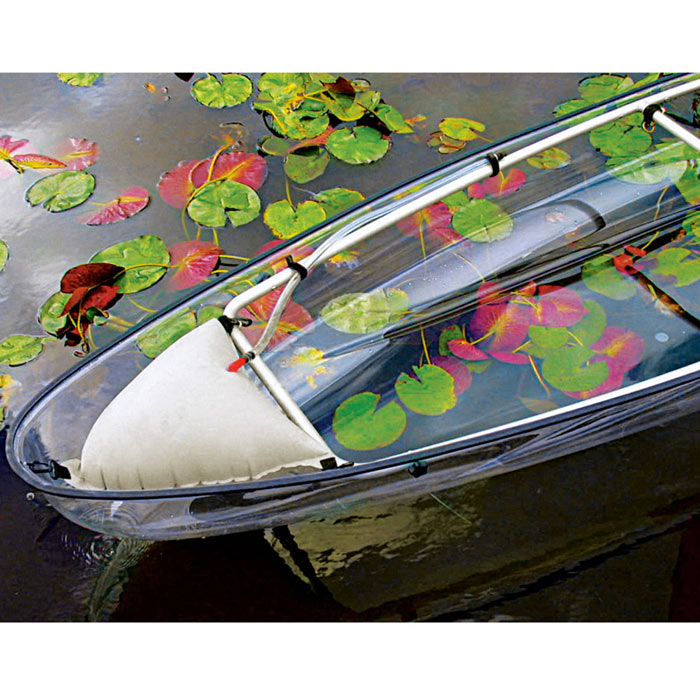 Edge of the Transparent Canoe Kayak by Hammacher