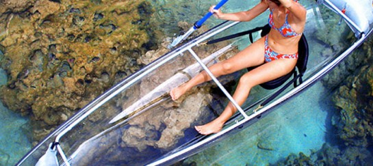 TRANSPARENT CANOE KAYAK | BY HAMMACHER