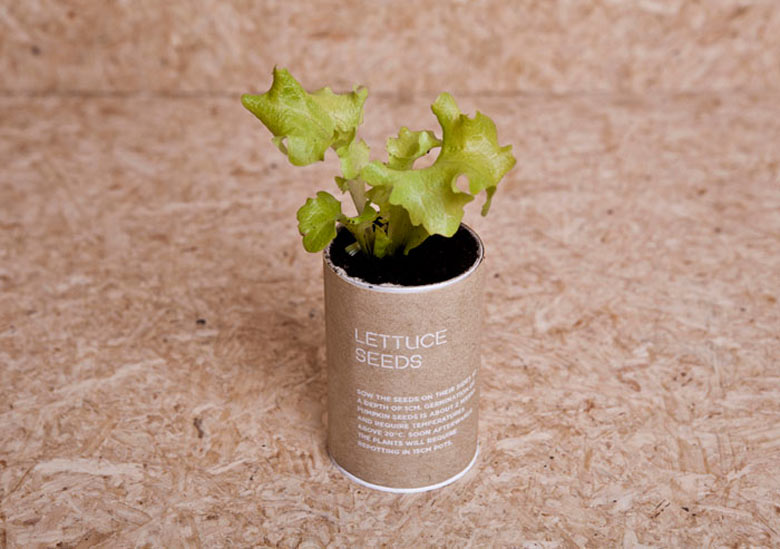 Plant pot from the Urban Survival Pack by Ryan Romanes