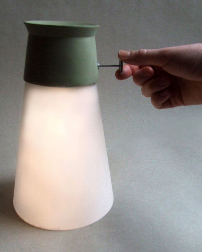 WAT LED Lamp Powered by water by Manon LeBlanc