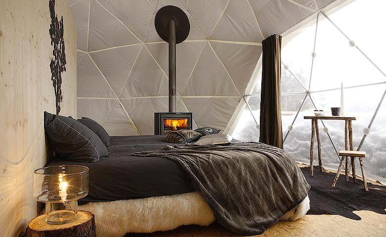Whitepod hotel in switzerland for Design hotel schweiz