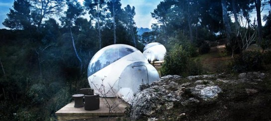 Attrap'Rêves Bubble Hotel in France