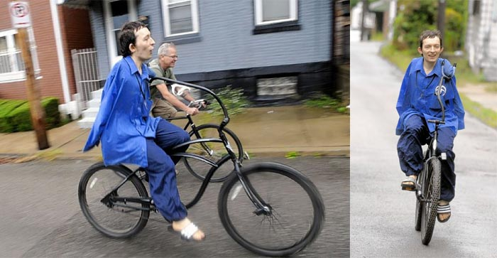 Bicycle Designed for Armless Man Inspiration on Wheels on Jebiga