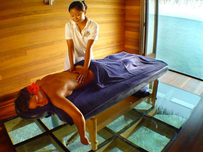 Conrad Maldives Rangali Island Hotel Spa Massage