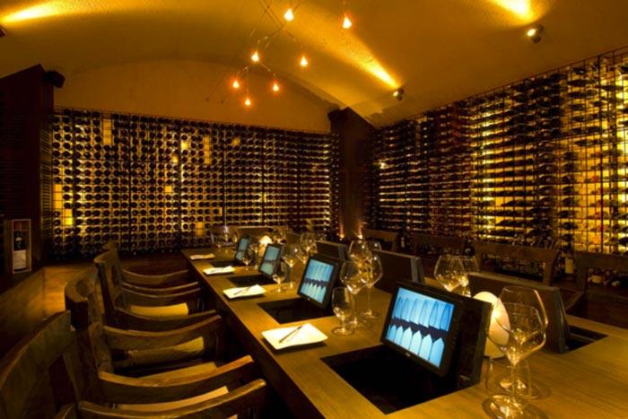 Conrad Maldives Rangali Island Hotel wine room