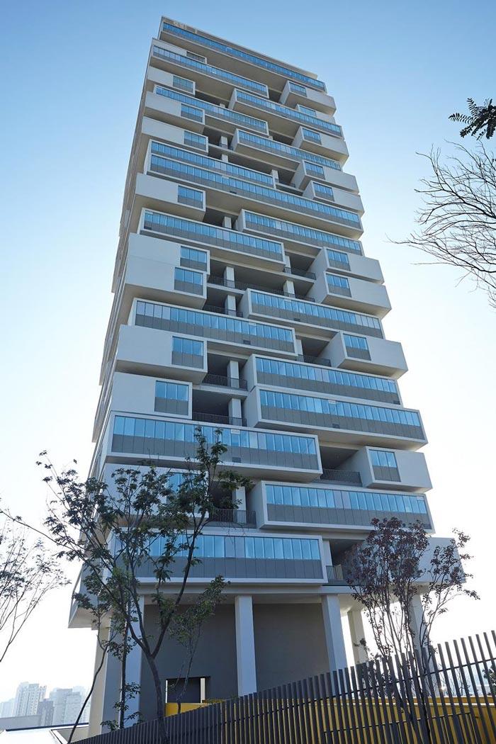 Edificio 360 Degree in Sao Paulo Brazil by Isay Weinfeld