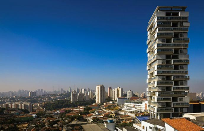 Edificio 360 Degree in Sao Paulo Brazil by Isay Weinfeld