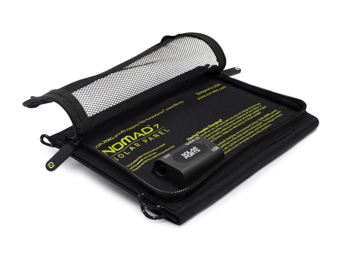 Pouch in the Guide 10 Plus Solar Charging Kit by Goal Zero