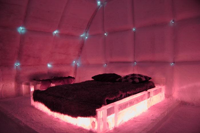 Hotel De Glace Ice Hotel In Quebec City Canada
