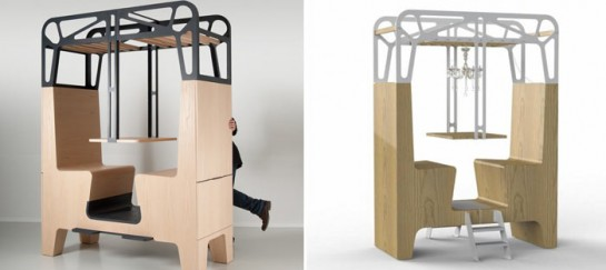 Il Treno Dining Unit by Tjep