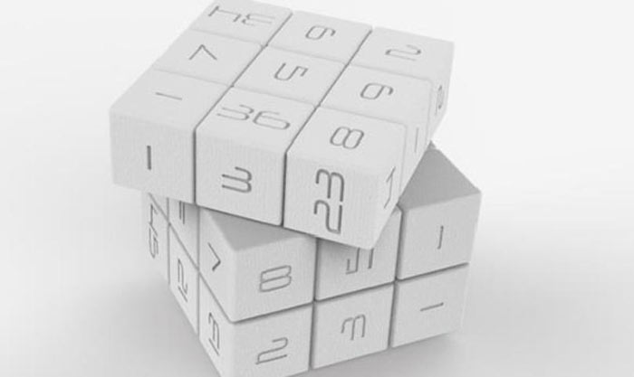 White Magic Cube by Innovation LLC